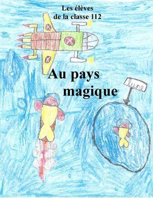 1er cycle À la manière d'Éric Battut et de François David «Au pays magique»