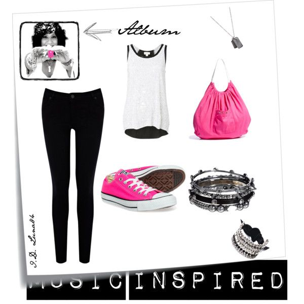 """""""Music Inspired!- Rosana, 8 Lunas"""" [Spain] by luna84 on Polyvore"""
