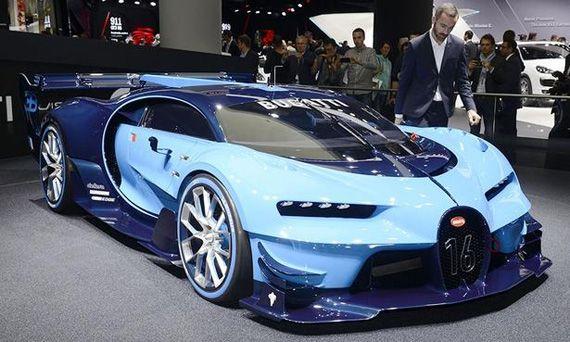 Концепт Bugatti Vision Gran Turismo / Бугатти Вижн Гран Туризмо
