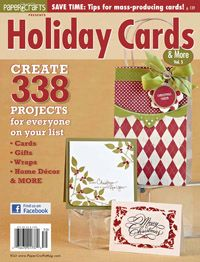 Holiday Cards & More, Volume 5 reduced price $7.99Cards Ideas, Cricut Crafts, Birthday Cards, Holiday Cards, Latisha Cards, Crafts Stuff, Crafts Lot, Paper Crafts, Crafts Magazines