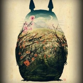 Totoro, te adoro.