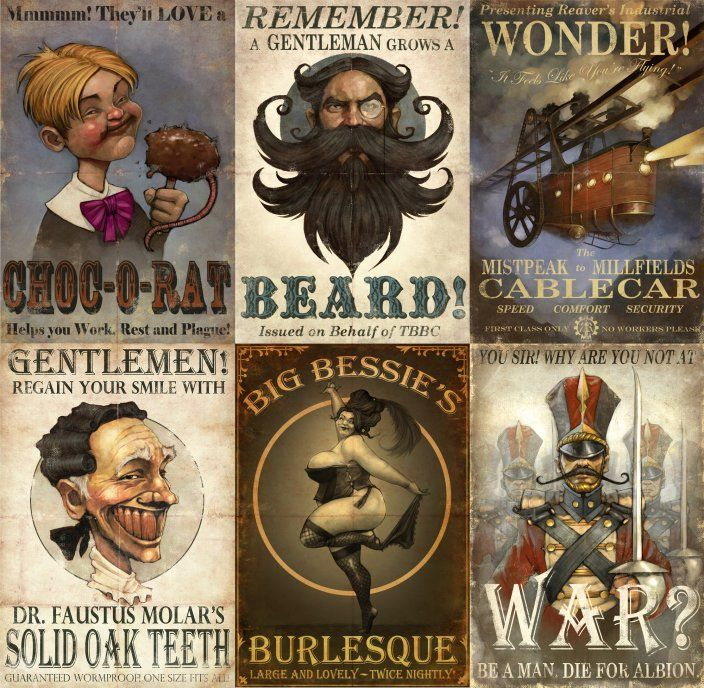 Fable 3 Posters by Widigan - Mike McCarthy