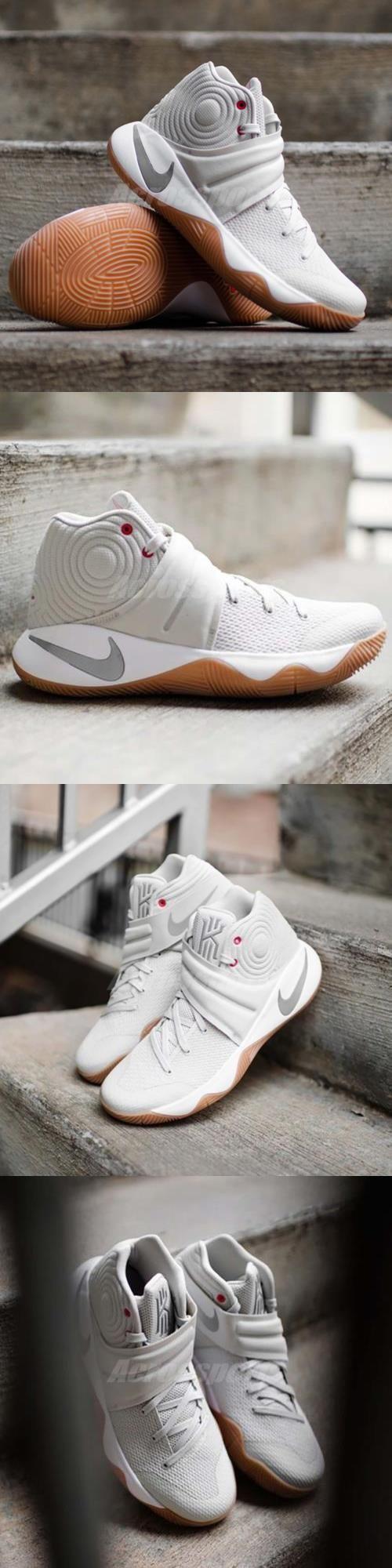Basketball: Nike Kyrie 2 EP II Irving Summer Pack Light Bone Men Basketball Shoes 852399-001 BUY IT NOW ONLY: $119.99 #priceabateBasketball OR #priceabate - best mens shoes, kinds of mens shoes, mens comfort shoes