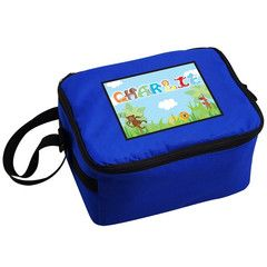 Blue Animal Alphabet Lunch Bag | Personalise | Back to School | Absolutely Adorable