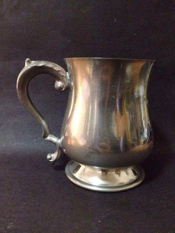 Estate Find - Vintage Pewter Beer Stein / Mug - Falstan Made in England