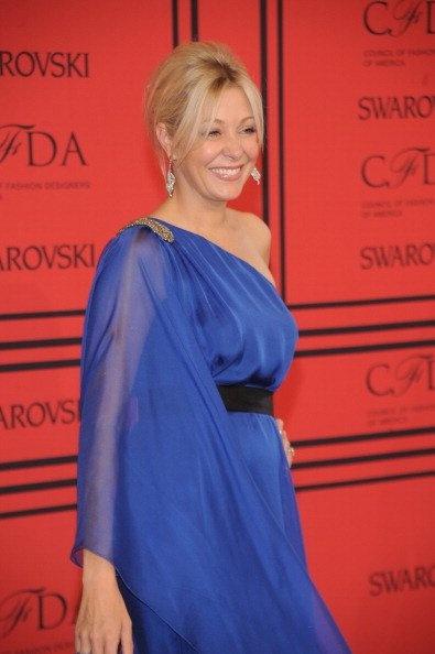 Nadja Swarovski representó a la marca que lleva su nombre. La firma es el patrocinador principal del evento.
