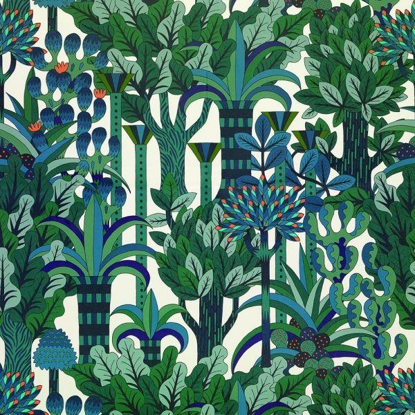 Jardin d'Osier, papier peint Hermès