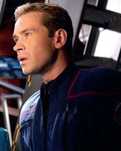 "Cmdr Charles ""Trip"" Tucker the third. sci-fi lover"