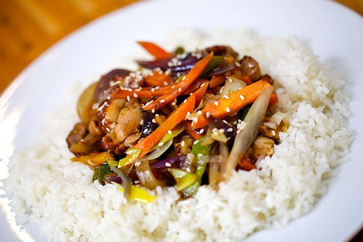 Sezamový wok
