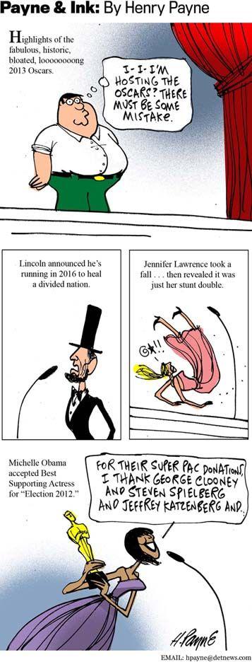 Oscar Highlights Cartoons Pinterest Cartoon