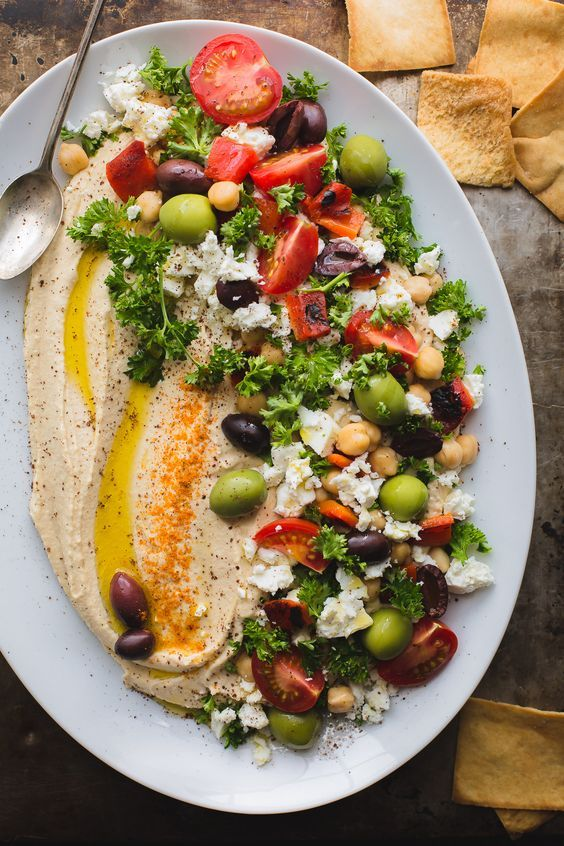 This Loaded Hummus is a great crowd-pleasing appetizer, but the hummus recipe it…