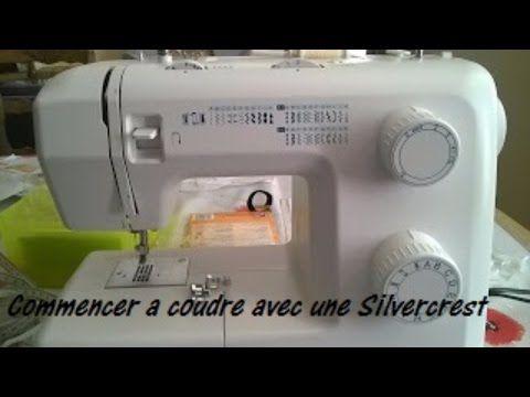 Commencez à coudre avec une machine Silvercrest. Comment mettre une canette.Couture facile pour débutant.Tuto de couture gratuit.