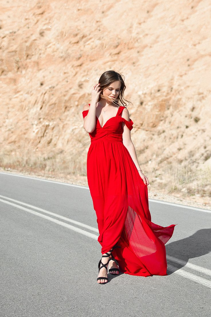 Magic Red on Shiny Honey Fashion blog by Tamara Bellis