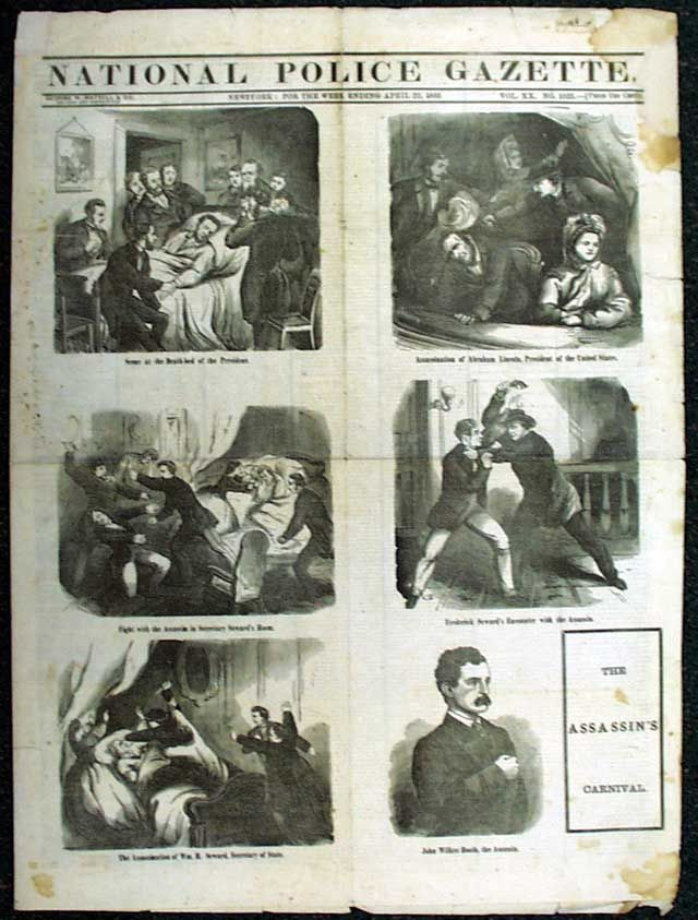 the event of the assassination of president abraham lincoln Abraham lincoln is inaugurated as the sixteenth president of the united states, and  the president was assassinated in april 1865, and the amendment was.