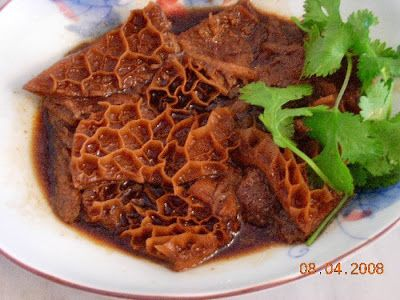 Dim Sum Recipes   74. Dim Sum Series #7, 牛肚 Beef tripe  Kits Chow
