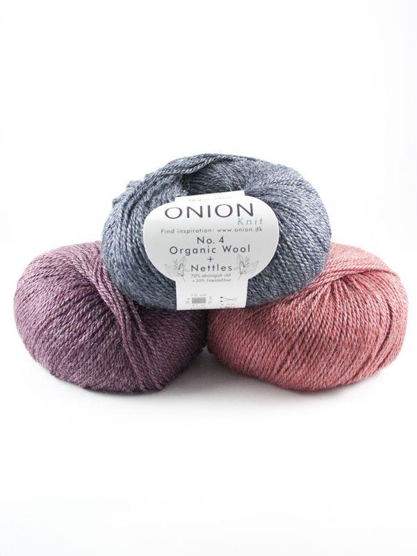 No. 4 Organic Wool +Nettles, mieszanka wełny i włókien pokrzywy
