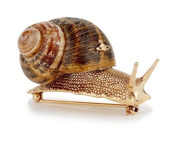 vivienne westwood snail brooch