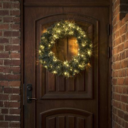 Konstsmide 2755-000 LED Spruce 60cm Warm White Wreath