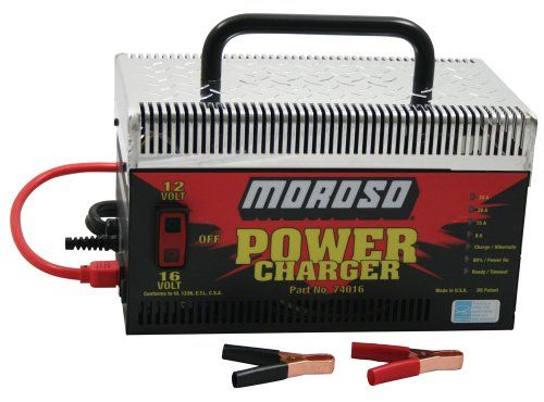 Moroso 74016 Dual Purpose Battery Charger Moroso Battery Accessories.  #Moroso #Automotive_Parts_and_Accessories
