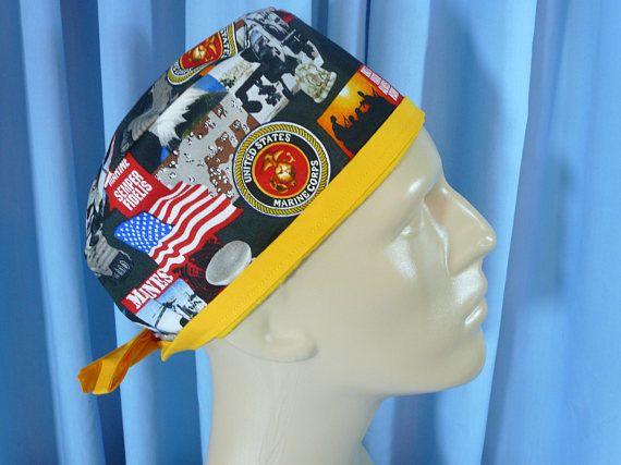 9 best images about mens scrub hats on pinterest shops marine xl marine corps sempre fi mens cotton scrub hat short hair scrub cap chef ccuart Images