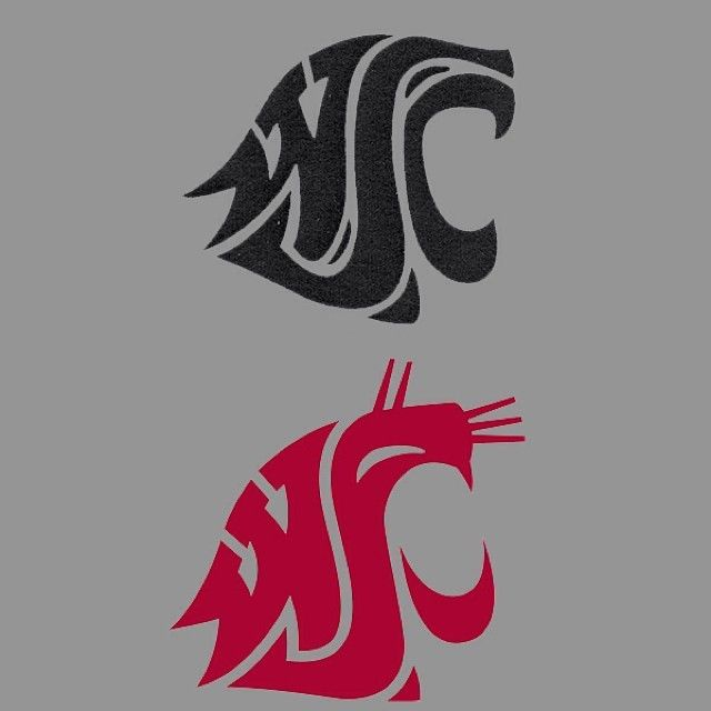 "The #WSU Cougar-head logo was created in 1936 by Washington State College (WSC) student Randall Johnson. In 1959, when the college became a university, Johnson revised the logo at the request of President C. Clement French. The ""C"" on the logo became a ""U."" In that year, for a token $1, Johnson signed over creative rights for the Cougar-head logo to the university. #TBT #GoCougs"