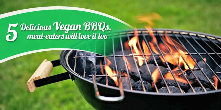 5 Delicious Vegan BBQs, meat-eaters will love it too - Let your backyard cookout go meatless, with exciting results What to bring to the meat-heavy barbecue, when everyone's noshing on fried chicken and... -