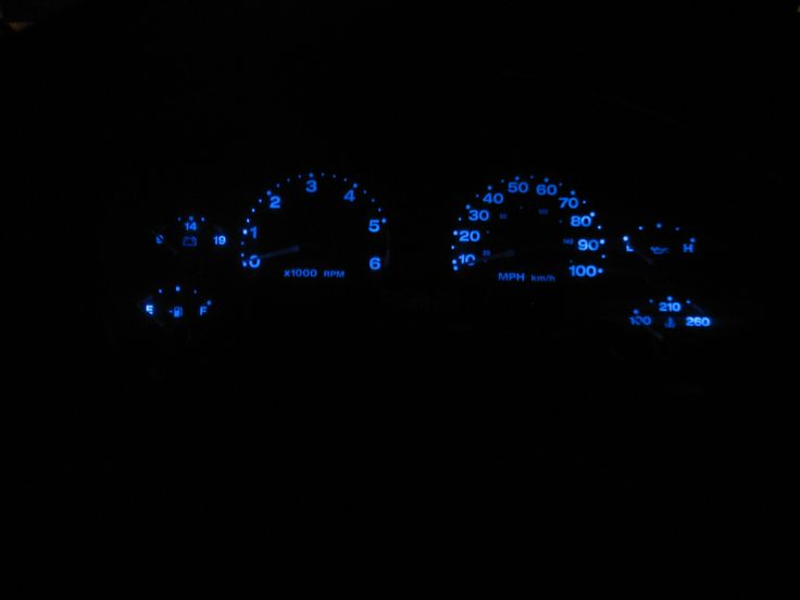 TJ Dash Lights Mod. Easy and Cheap! - Jeep Wrangler Forum