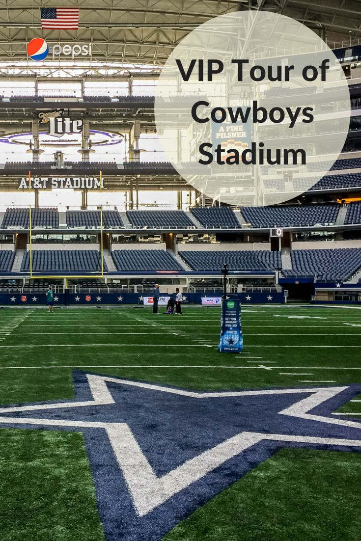 A tour around Dallas Cowboys Stadium (aka AT&T Stadium) in Texas offers a glimpse into the workings of the stadium and a walk on the field