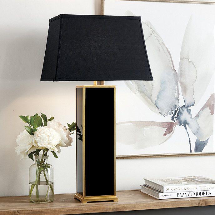 Natalie Tall Acrylic Table Lamp Table Lamp Lamp Ceramic Table Lamps