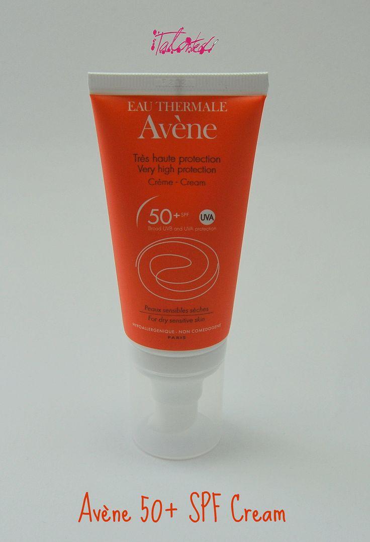 Avene 50+ SPF Cream. A summer skincare saviour! http://talontedlex.co.uk/post/54276991545/avene-50-spf-cream-i-love-summer-but-it-doesnt #bbloggers #skincare #avene #rosacea