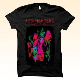 Kaos Sablon Satuan Band Foo Fighters | Direct to Garment T-shirt printing  http://kaosdistroweb.com/kaos-sablon-satuan-band-foo-fighters-2/