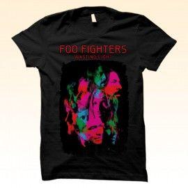 Kaos Sablon Satuan Band Foo Fighters | Direct to Garment T-shirt printing  http://kaosdistroweb.com/kaos-sablon-satuan-band-foo-fighters-2/