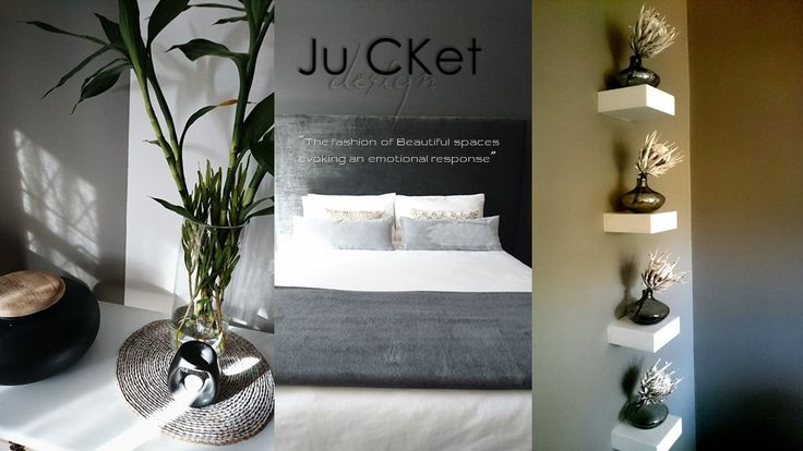 Project and Photography from previous projects - RESIDENTIAL. Bedroom upgrade. Floating shelf concept and accessorising