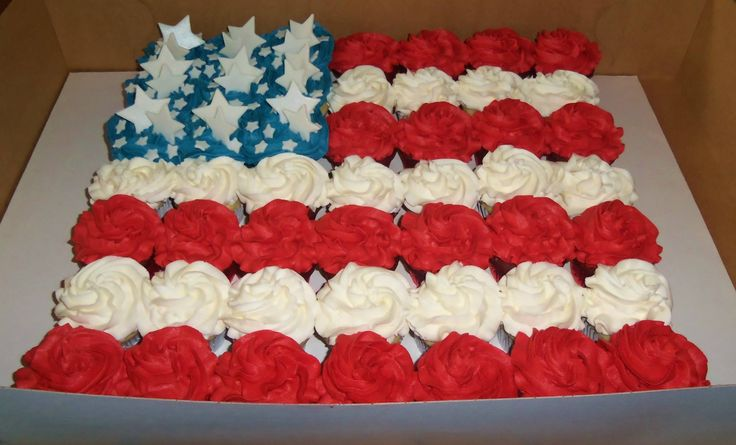 Cup Cakes Flag
