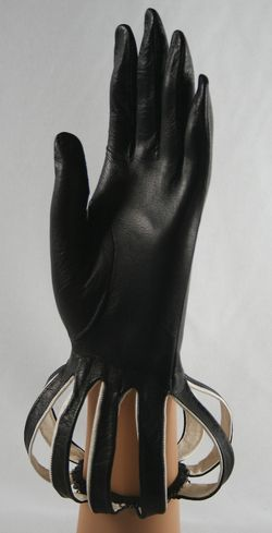 Cut out wrist gloves.