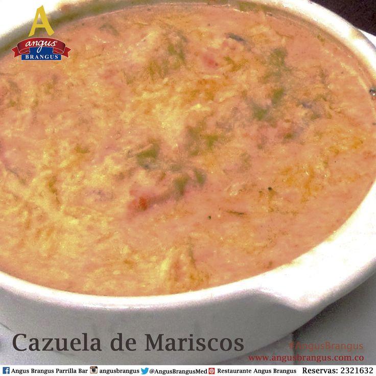 Hoy te preparamos una deliciosa Cazuela de Mariscos; con calamares, camarones,caracol y pescado.   #Poblado #restaurantesmedellín #medellín #PlatoRecomendado #mariscos #AngusBrangus #jueves #musicaenvivo