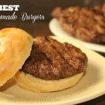 The BEST Homemade Burgers