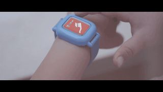 Octopus smartwatch for kids teaches tykes how to stick to a schedule.