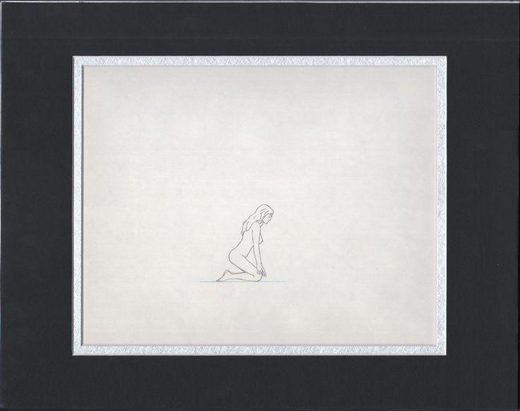 Heavy Metal Taarna original production cel drawing 1981