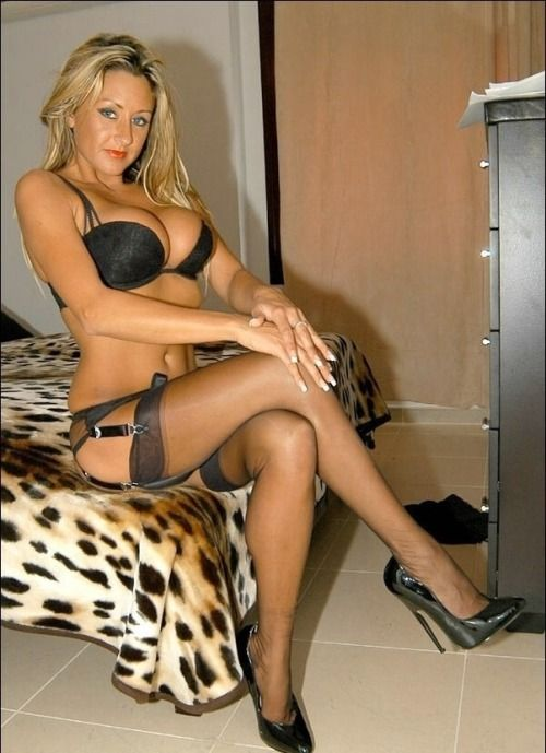 Would've mature in stockings tube smoking blonde