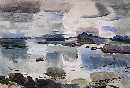 Skye Hills near Morar by Sir William Gillies - in the National Galleries of Scotland Collection