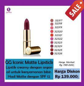 Giordani Gold Iconic Matte Lipstick SPF 12 Oriflame