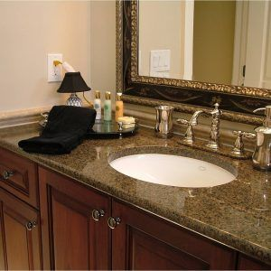 Prefab Granite Bathroom Vanity Tops