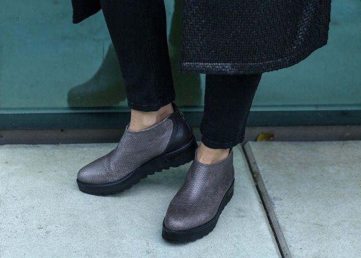 Zurbano HUSK shoes on the street