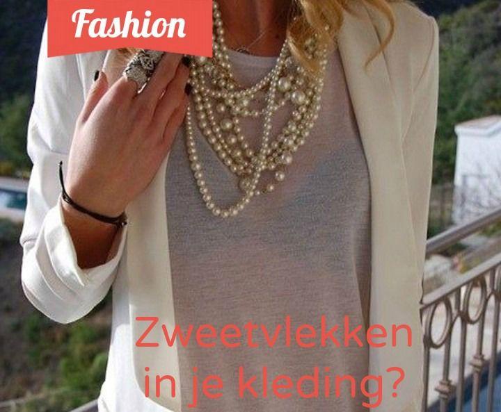 In de zomerdag is witte kleding je beste vriend. Het enige nadeel aan witte kleding is, dat sommige vlekken behoorlijk zichtbaar zijn. Zo ook zweetvlekken! Om zweetvlekken in kleding te voorkomen, hebben wij de perfecte oplossing. Het zou toch zonde zijn als je die mooie witte blouse niet meer kon dragen? -> http://www.tipclip.nl/zweetvlekken-in-je-kleding/