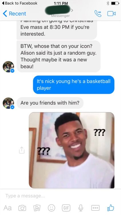 My mom trying to understand why nick young is my profile picture on facebook - More at: Me Kago De Risa Help me Click Here! #memes #lol #funny #jokes