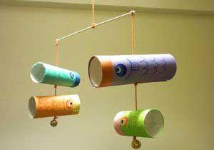こいのぼりをトイレットペーパー芯で簡単工作!幼稚園の幼児と手作り!   コタローの日常喫茶