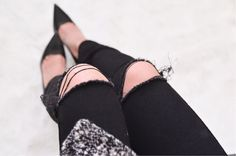 How to Make DIY Ripped Jeans | eBay