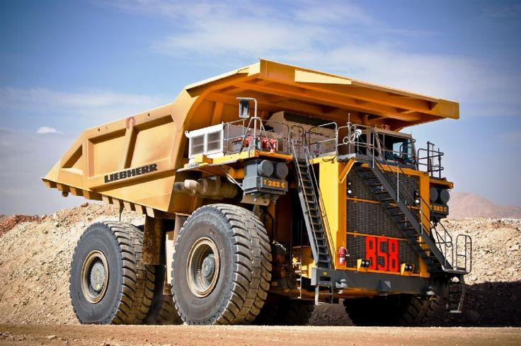 Did you know that the Liebherr T 282 C haul truck features five different brake systems?  These brake systems are: 1. Hand brake 2. Park brake 3. Brake blending system 4. Service brake system 5. Dynamic brake system