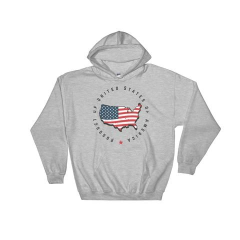 Retro United States Seal Hooded Sweatshirt